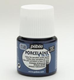 PéBéo Porcelaine (porseleinverf) 024-109 Petroleum SHIMMER