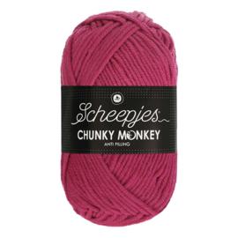 Scheepjes Chunky Monkey  1827 deep fuchsia