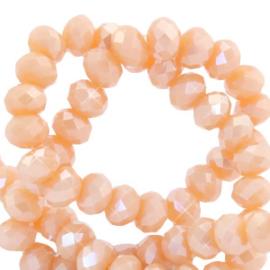 Peach orange-pearl 20 stuks