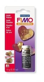 Fimo versierpoeder goud