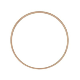 Houten ring 20 cm.