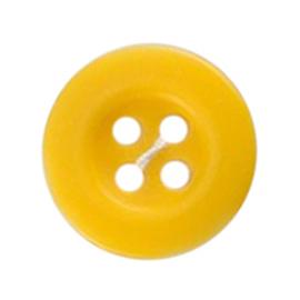 Knoop geel 5 stuks