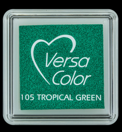 VersaColor Small Inktpad small Tropal Green