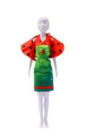 Kledingset Dolly ladybug