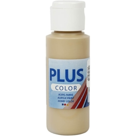 Plus color Verf 60 ml. donker beige