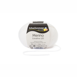 Merino Extrafine 120 weiss 00101