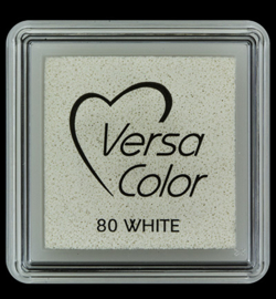 VersaColor Small Inktpad small White