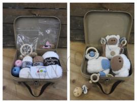 Funny Baby set met koffer