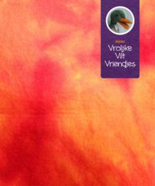 Wolvilt sprookjes rood-oranje, kameleons