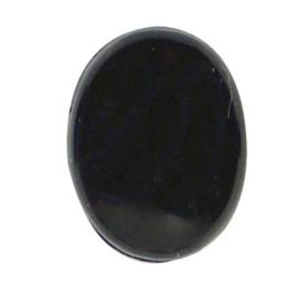 Veiligheidsoogjes  ovaal 10 mm. zwart per paar