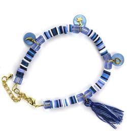 DIY set Katsuki armband mix blue