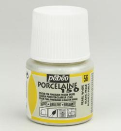 PéBéo Porcelaine (porseleinverf) 024-056 Pearl White SHIMMER