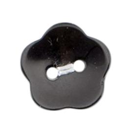 Knoop zwart 4 stuks