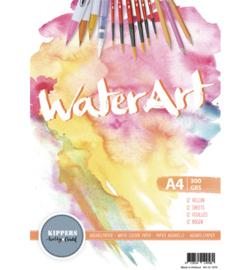 Aquarel papier 12 sheets A4 30 x 21 cm. 300 grams