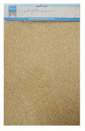 Glitter papier gold 5 x A4