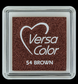 VersaColor Small Inktpad small Brown