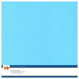Linnen karton 30,5 x 30,5 cm. Hemelsblauw