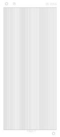 Stickervel Lines - zilver