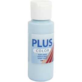 Plus color Verf 60 ml. ijs blauw