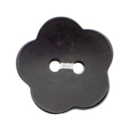 Knoop zwart 2 stuks