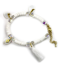 DIY set Katsuki armband mix white