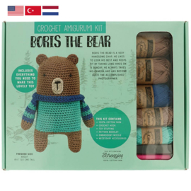 Tuva Amigurumi haakpakket Boris the Bear