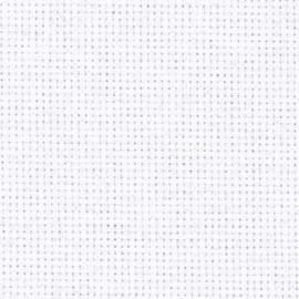 Aida borduurstof ( 14 count) 5,4 kruisjes per cm. wit