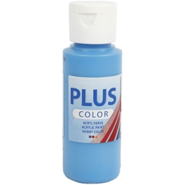 Plus color Verf 60 ml. oceaan blauw