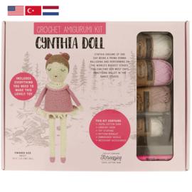 Tuva Amigurumi haakpakket Cynthia Doll