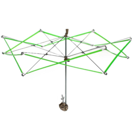 Parapluhaspel-wolopwinder
