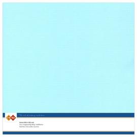 Linnen karton 30,5 x 30,5 cm. Lichtblauw
