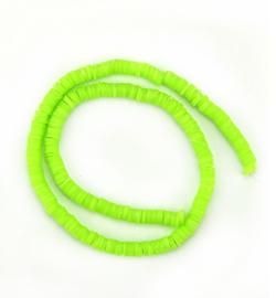 Katsuki beads 6 mm. neon green
