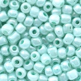 Dusk turquoise bleu 6/0 4 mm.