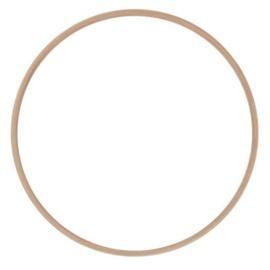 Houten ring 25 cm.