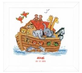 Borduurpakket (geboorte) Ark van Noa