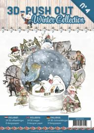 3D uitdrukvellen boek Wintercollectie nr. 4