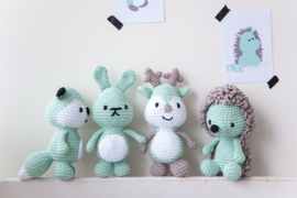 Little Woodland vriendjes mint
