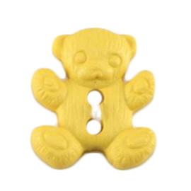 Knoop geel  3 stuks