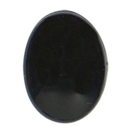 Veiligheidsoogjes  ovaal 12 mm. zwart per paar