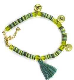 DIY set Katsuki armband mix green