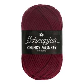 Scheepjes Chunky Monkey  1035 maroon