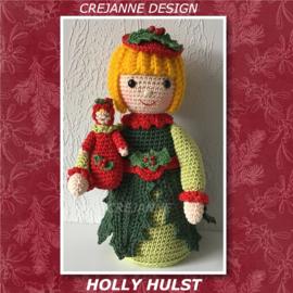 Holly Hulst papieren patroon