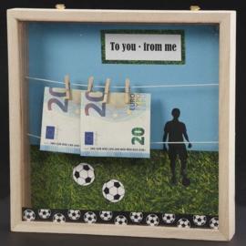 Cadeau verpakking voetballer