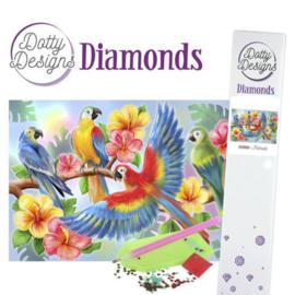 Diamond painting Dotty Design -Parrot