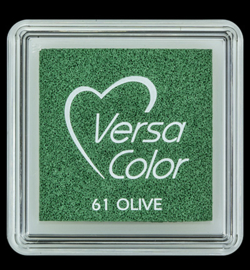 VersaColor Small Inktpad small Olive
