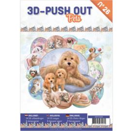 3D Push out boek Pets nr. 26