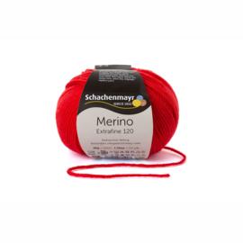 Merino Extrafine 120 tomate 00130