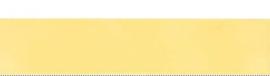 Satijnlint 25 mm. geel 0026