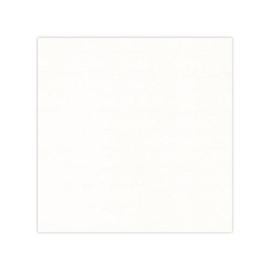 Linnen karton oplegkaartjes  12,8 x 12,8 cm. 240 gr. gebroken wit