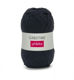 Phildar Cabotine 0067 zwart 1 bol